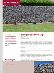 geht's zum Download des Produktflyers! - Gabion solutions