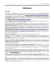 Vollständige Liste der Publikationen - Universität Bremen
