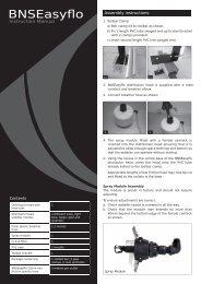 BNSEasyflo Instruction Manual