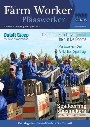Die Plaaswerker • The Farmworker - AMG Media & Promotions