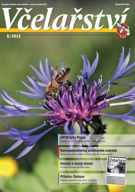 Včelařství 08/2012 - Český svaz včelařů