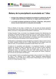 Nota informativa - Premsa