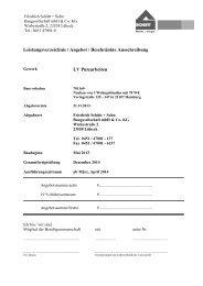 LV Putzarbeiten - Friedrich Schütt + Sohn Baugesellschaft mbH ...