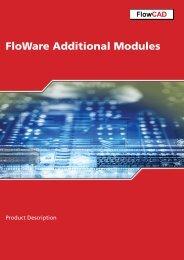 FloWare Additional Modules - FlowCAD