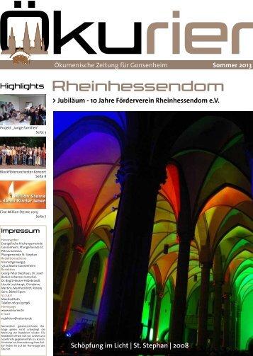 Evangelische Kirchengemeinde | Mainz – Gonsenheim