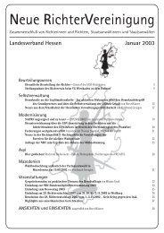 HES-2003-01 Info - Neue Richtervereinigung eV