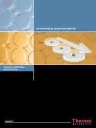 UpCell Surface Brochure - Fisher Scientific