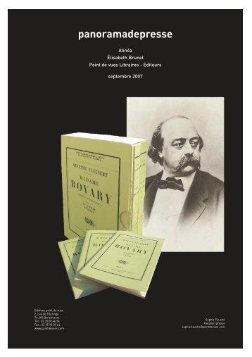 PanoramaPressesept.07 - copie.indd - Librairie Elisabeth Brunet
