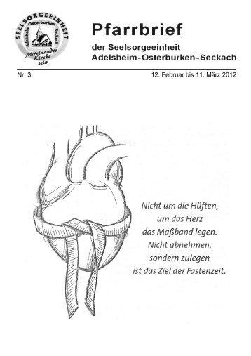 Nr. 3 12. Februar bis 11. März 2012 - Seelsorgeeinheit Adelsheim ...