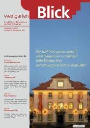 Ausgabe 32/2013 - Weingarten im Blick
