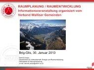 Informationen zu Modul A6 - Raumplanung - RW Oberwallis