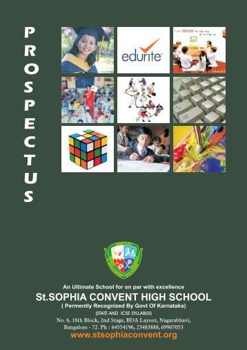 sophia prospectus - Stsophiaconvent.org