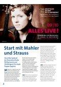 Start in die Konzertsaison 2009/10 - Saarländischer Rundfunk - Seite 4