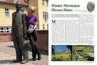 Hinter Hermann Hesses Haus - Jimdo