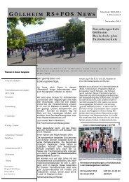 1.Elternbrief 2013/2014 - Gutenberg Realschule plus Göllheim