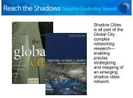 Shadow Cities - CityChurch of Ames-Des Moines
