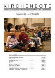 April-Mai 2013 - Kirchenkreis Obere Nahe