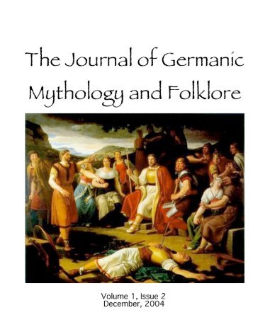 december 2004 - The Journal of Germanic Mythology and Folklore