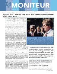 MONITEUR - Coalition for the International Criminal Court