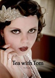 Download our Pamper Packages PDF - Tea with Tom