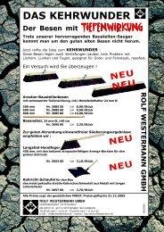DAS KEHRWUNDER - Rolf Westermann GmbH