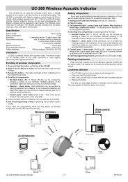 UC-260 Wireless Acoustic Indicator