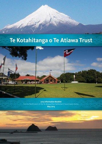 Information Booklet - Electionz.com