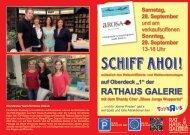 Programm - Rathaus Galerie, Wuppertal-Elberfeld