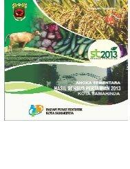booklet - Sensus Pertanian 2013 - Badan Pusat Statistik