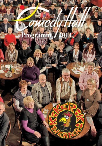 Programm 2014 - Comedy Hall & Kikeriki Theater