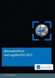 Jahresabschluss und Lagebericht 2012 (PDF) - Euler Hermes Logo