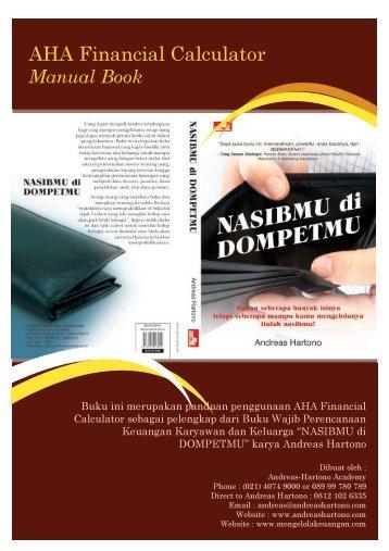 Buku Manual Kalkulator - Mengelola Keuangan