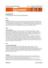 Ihre Schnell-Rezepte aus dem Gästebuch als PDF - WDR.de