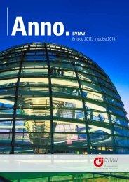 Auszug aus BVWM Anno 2012 (PDF) - Deutsches Institut für ...