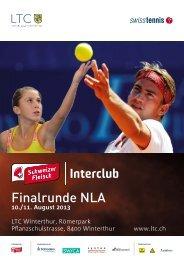 Finalrunde NLA - LTC - Tennisclub Winterthur