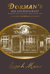 BAR AND RESTAURANT - Dormans and The Opera