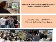 Francesca Crosta - Sabrina Ortelli - Erasmosesto.eu