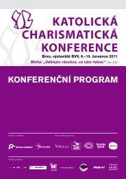 Konferenční program - Katolická charismatická konference 2013