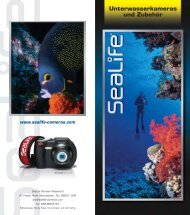 Sealife Produkt Guide pdf-Datei ǀ 1,1 MB