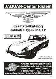 Ersatzteilkatalog JAGUAR E-Typ Serie 1, 4.2