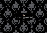Download brochure - Gresham Metropole Hotel