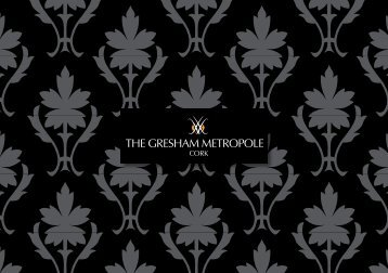 Download brochure - Gresham Metropole Hotel