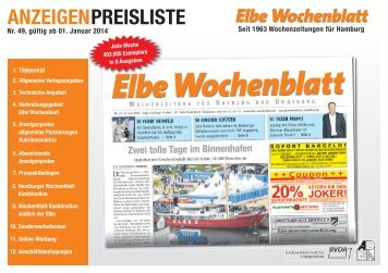 Preisliste 2014 - Elbe Wochenblatt