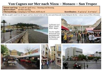 Von Cagnes sur Mer nach Nizza – Monaco – San ... - womoreisen.info