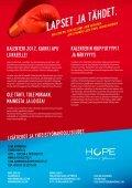 HOPE Yhdessä ja Yhteisesti ry Tukea sinne, missä ... - Kukka Laakso - Page 2
