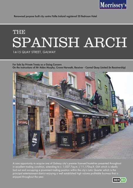SPANISH ARCH - Morrissey's
