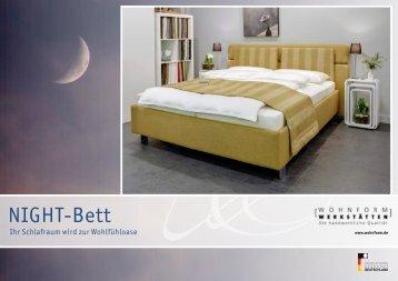 Wohnform-Night-Bett-Prospekt