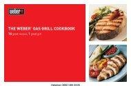 Download FREE weber gas BBQ cookbook - Birstall Garden Centre