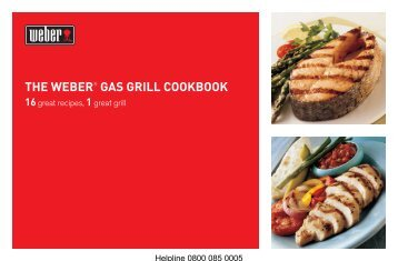 Download FREE weber gas BBQ cookbook - Birstall Garden Centre