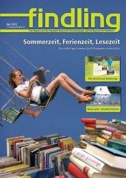 Sommerzeit, Ferienzeit, Lesezeit - Findling Heideregion